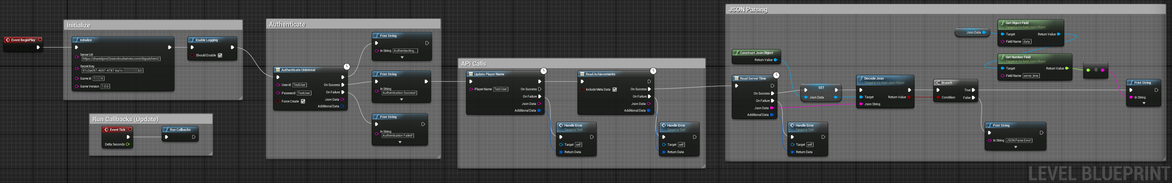 Getting started with blueprints braincloud api docs unrealfull malvernweather Images