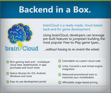 brainCloud Datasheet - Get brainCloud BaaS